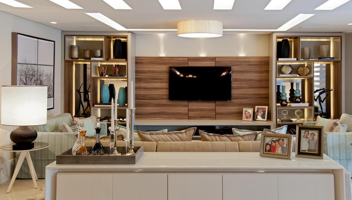 Fotos decorao salas ambientes pequenos 6