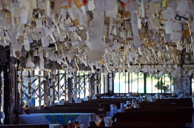 Bar e restaurante Arante guarda bilhetes dos clientes no Pântano do Sul