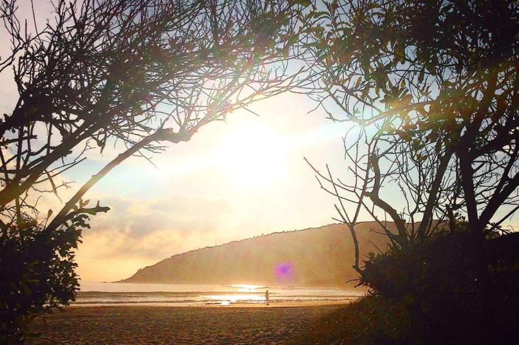Praia da Barra da Lagoa em Florianópolis