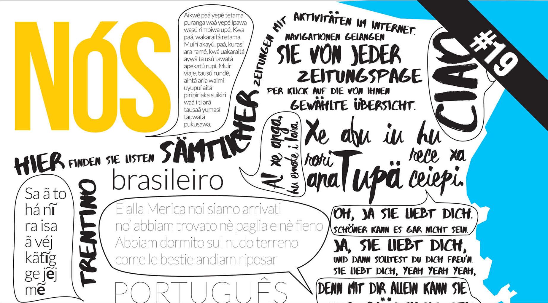 Caderno Nós 19 SC um estado poliglota